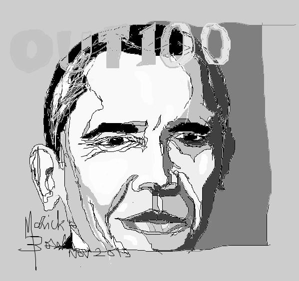 Barack OBAMA - © Malick MBOW