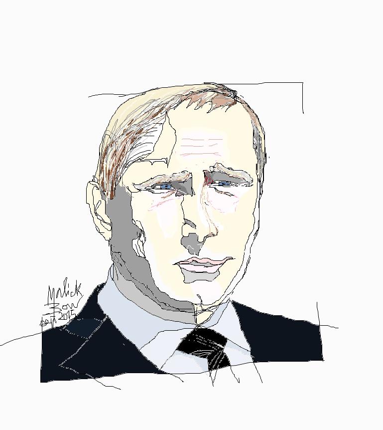Vladimir POUTINE - © Malick MBOW