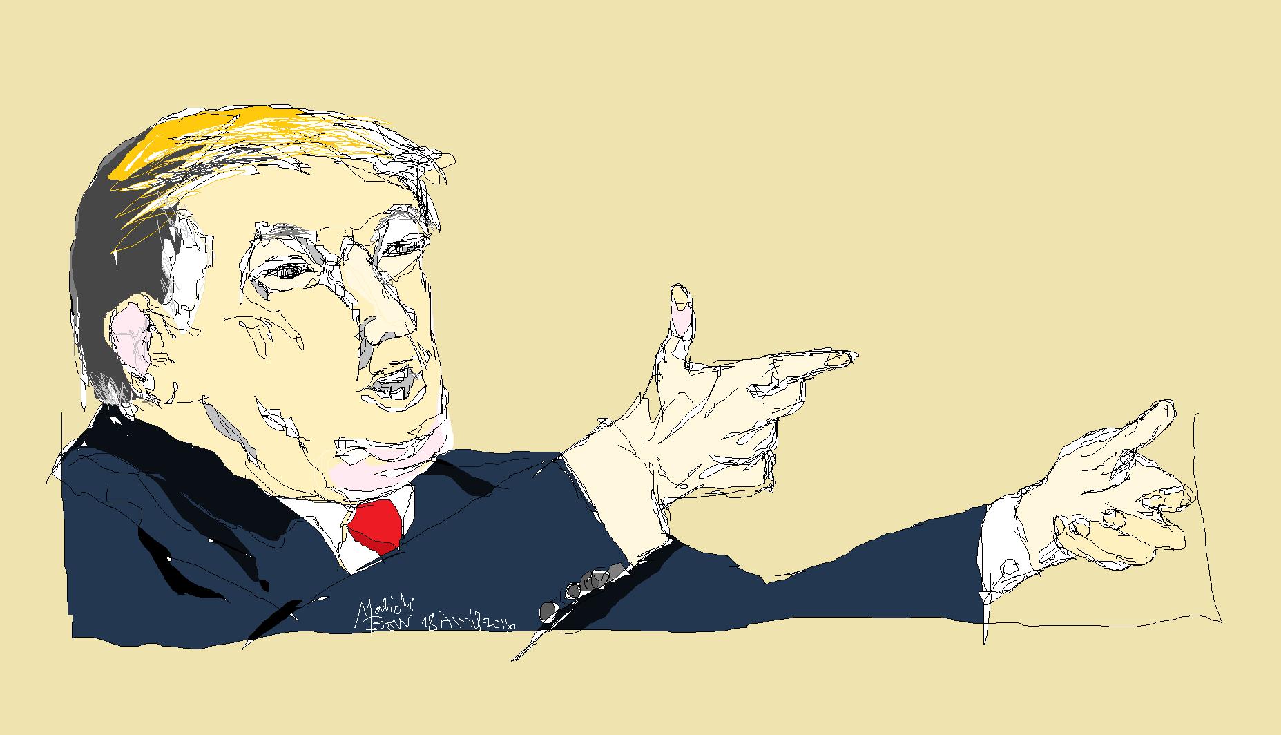 Donald TRUMP - © Malick MBOW