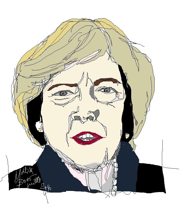 Theresa May - © Malick MBOW