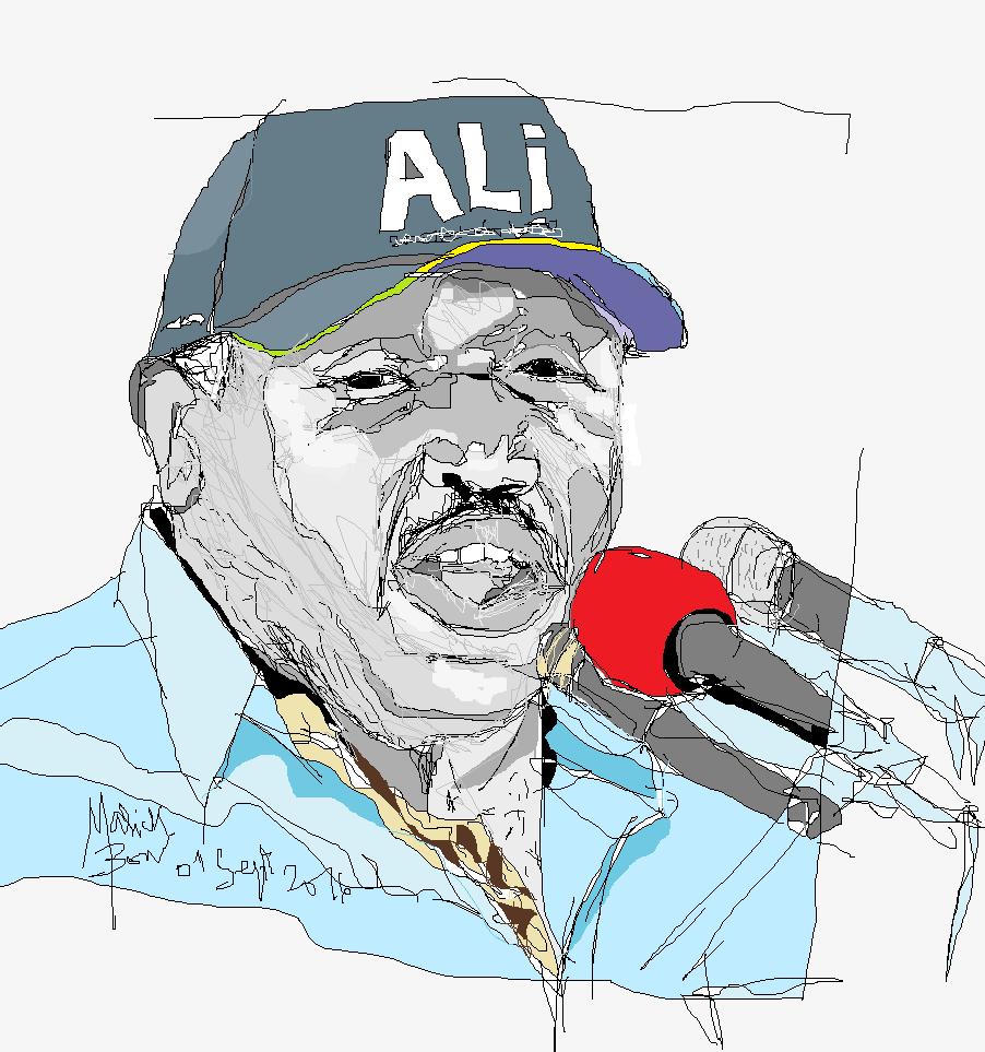 Ali Bongo © Malick MBOW
