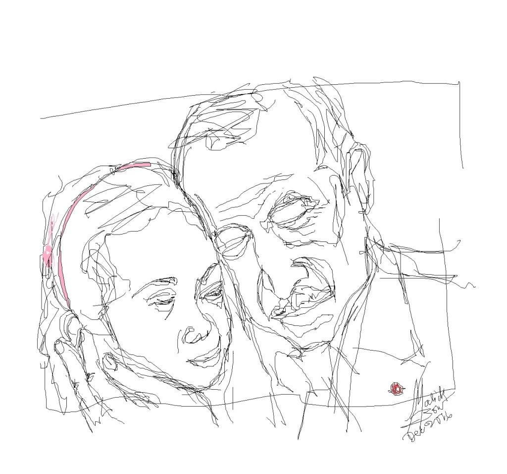 Bana-Al-Abed-et-Recep-Tayyip-Erdogan © Malick MBOW
