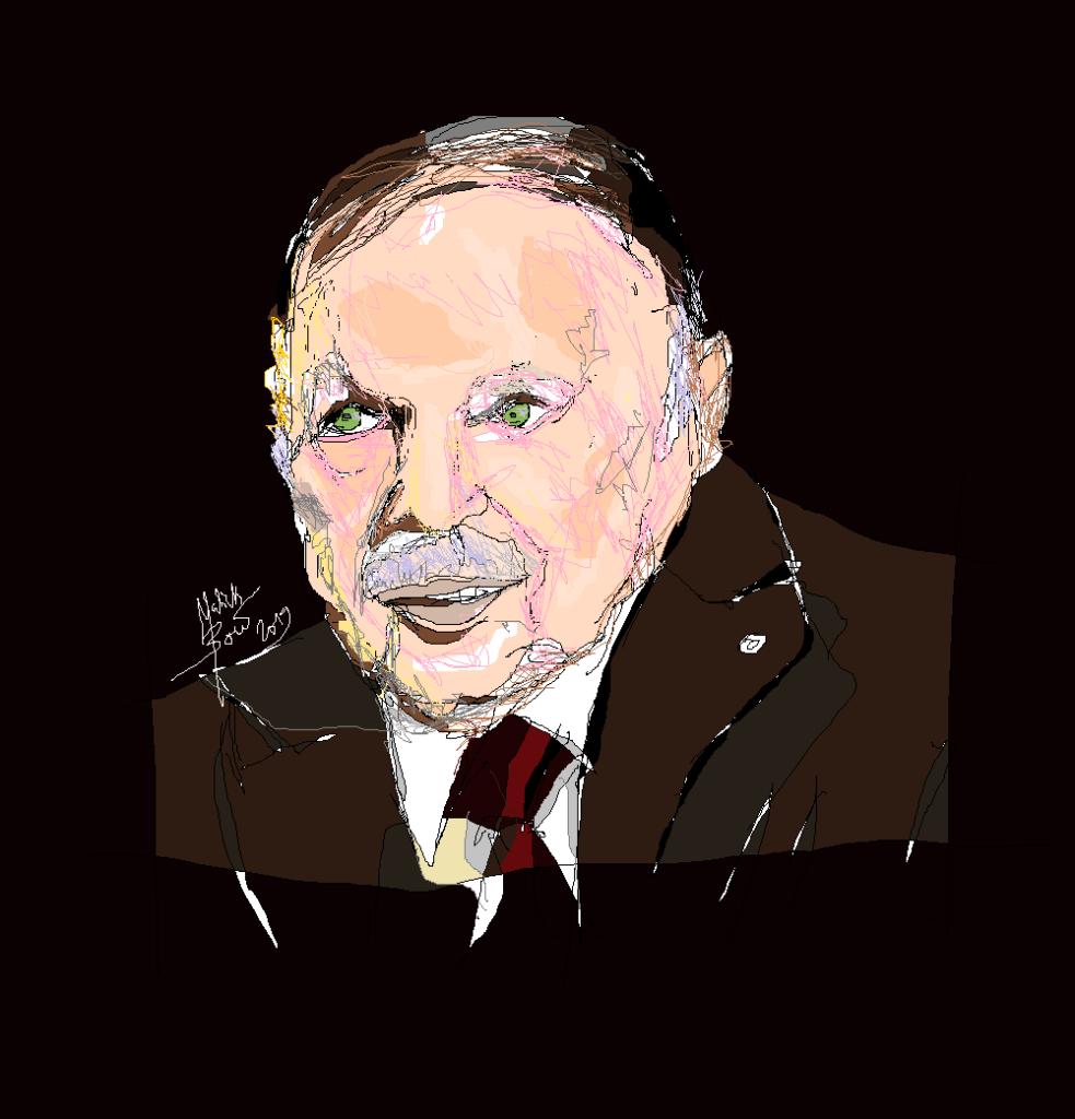Abdelaziz Bouteflika © Malick MBOW
